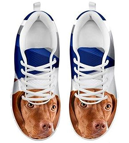 Casual Print Cute Vizsla Brand 10 Men's Sneakers zfq60zZwA
