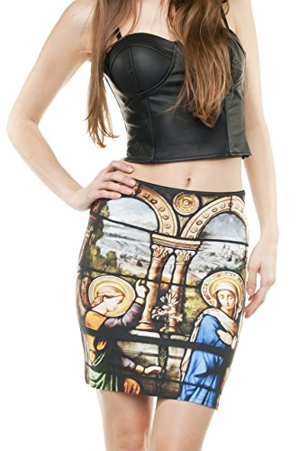 Funny Skirts Company© Impreso Faldas 3d Imprimir/Motivo/Diseño Un Tamaño De Unisex Primavera De Verano 2017 (CATHEDRAL 29863)