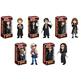 Rock Candy: Harry Potter: Harry, Hermione, Ron, Luna, Bellatrix Vinyl Figures Set of 5