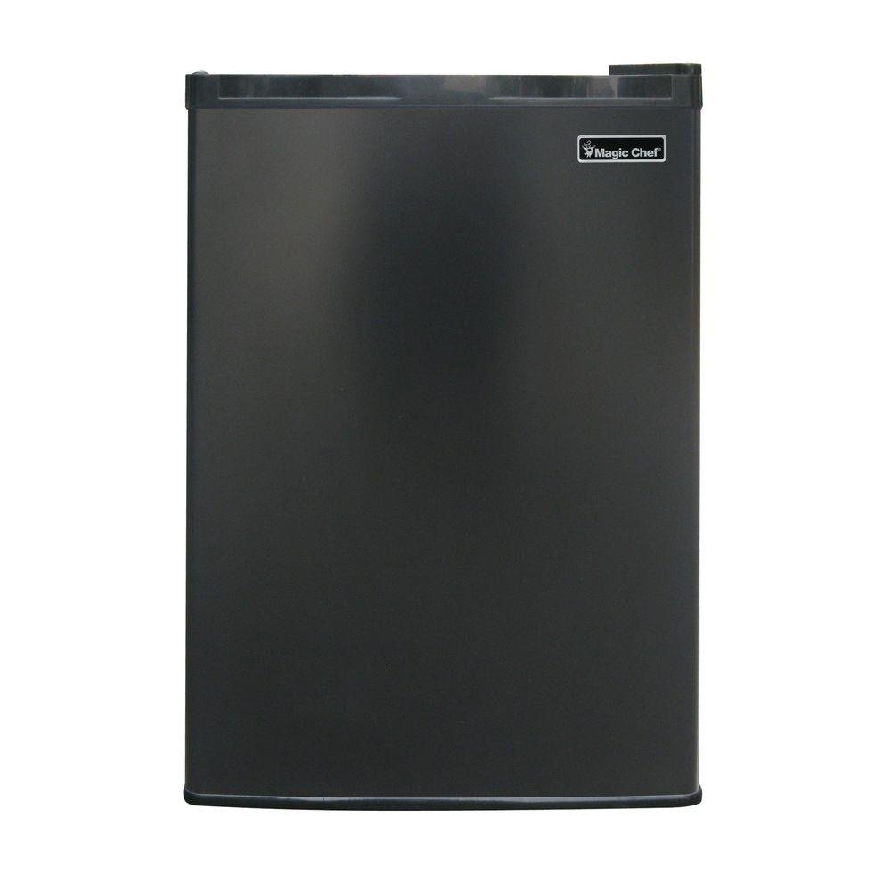 Magic Chef 17.5 in. W 2.6 cu. ft. Mini Refrigerator in Black