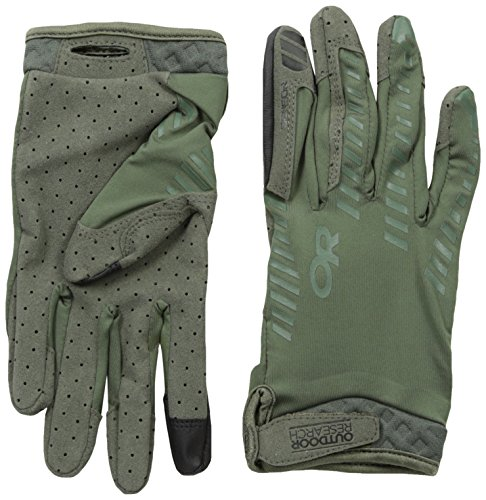 Outdoor Research Aerator Sensor Gloves, Sage Green, ()