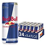 Red Bull Energy Drinks 24 Cans, 201.6 Fluid Ounces