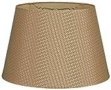 Royal Designs Tapered Shallow Drum Hardback Lamp