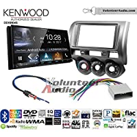 Volunteer Audio Kenwood DDX9904S Double Din Radio Install Kit with Apple CarPlay Android Auto Bluetooth Fits 2002-2005 Honda Civic SI