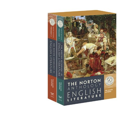 393919668 - The Norton Anthology of English Literature, The Major Authors (Ninth Edition)  (2 Volume Set)