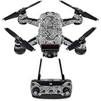 Skin for DJI Spark Mini Drone Combo - Floral Lace| MightySkins Protective, Durable, and Unique Vinyl Decal wrap cover | Easy To Apply, Remove, and Change Styles | Made in the USA