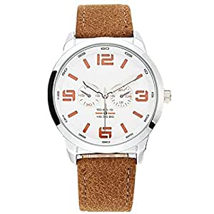 Casual Sports Men Waterproof Watch Decoration Small Three - Pin Outdoor Student Fashion Quartz Watch,Metallic