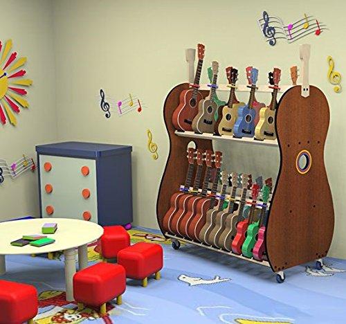 The Band Room Ukulele Storage Cart For Classrooms