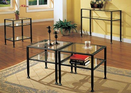 037732087726 - SEI Bunching Metal End Table carousel main 2