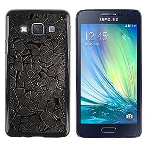 Be Good Phone Accessory // Dura Cáscara cubierta Protectora Caso Carcasa Funda de Protección para Samsung Galaxy A3 SM-A300 // Pattern Nature Ice Environment