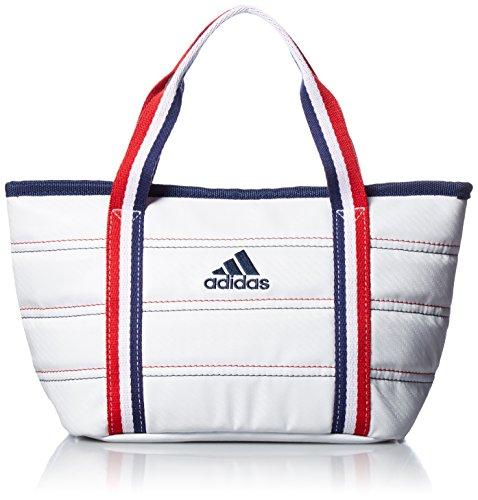 [Adidas Golf] Round Tote Bag L23 × W18 × H13 cm AWT 28 A 42074 White by adidas