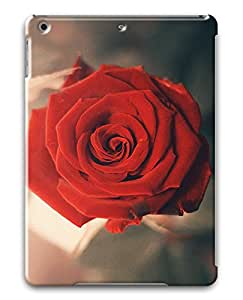 PhoenixShop Ipad Air ( iPad 5 5th Generation) Cases,BBeautiful Red Rose Lightweight 3D Protective Cases For iPad Air