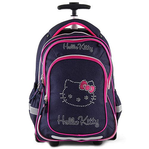 Hello Kitty - Laptop Rollkoffer, 47 cm, Blau (Blu)