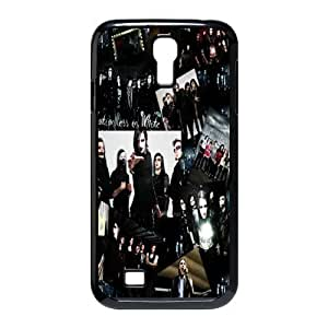 Gators Florida USA Music Band D2 Motionless In White Print Black Case With Hard Shell Cover for SamSung Galaxy S4 I9500