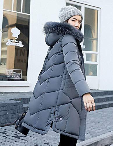 avec Doudoune Chemin Fourrure Les Femme Hiver Fashion Tous Parka Jours Capuchon Chaud Longues q4WFETYnF