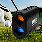 TONOR 980 Yards Laser Golf Range Finder for Hunting Fishing Outdoor Activities Rangefinder Black