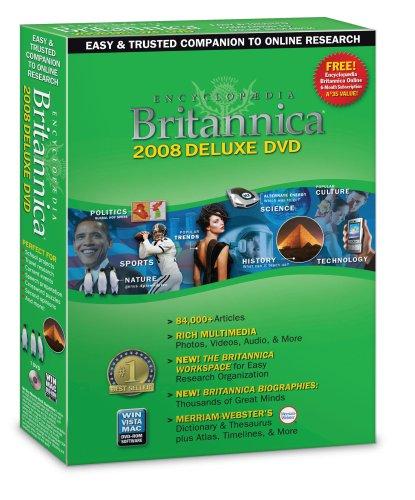 Encyclopedia Britannica Deluxe 2008 [OLD VERSION]