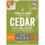 Cedar Grilling Papers - Fire & Flavor (2 pack)