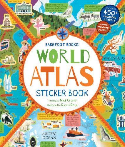 Barefoot Books World Atlas Sticker -