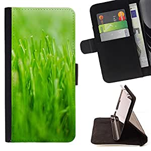 - Nature Beautiful Forrest Green 22 - - Monedero PU titular de la tarjeta de cr????dito de cuero cubierta de la caja de la bolsa FOR Sony Xperia m55w Z3 Compact Mini RetroCandy