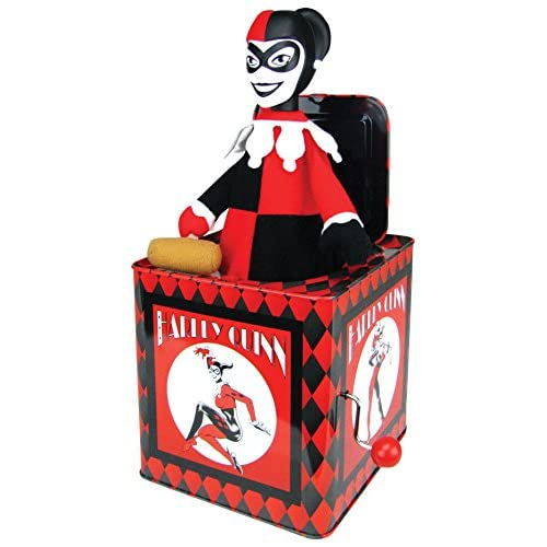 Bif Bang Pow! DC Comics Harley Quinn Jack In The Box