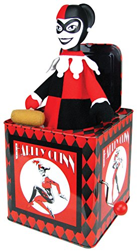 ics Harley Quinn Jack In The Box (Tin Box Statue)