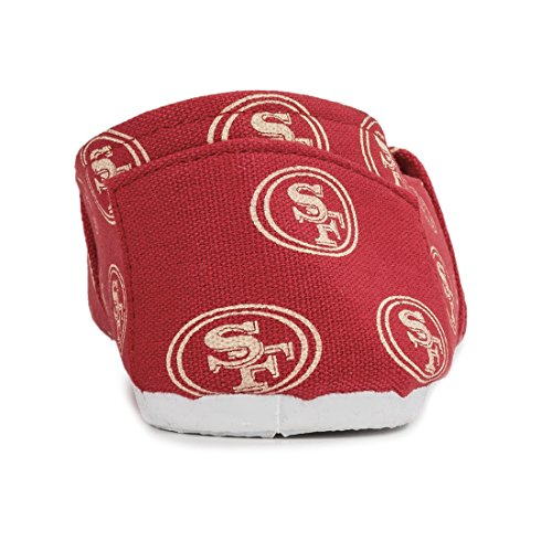 Collectibles Womens Team Francisco Ladies on Slip San Nfl Football 2015 49ers Forever Summer Canvas Shoes Pick 1Cq6Awd1W