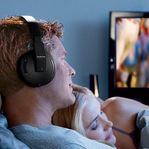 (Brookstone 2.4GHz Wireless TV Headphones)
