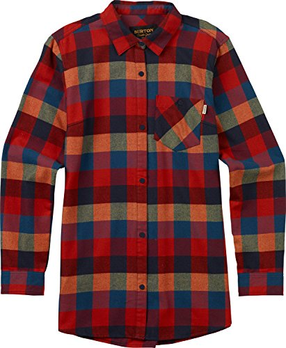Burton Tech Flannel - Burton Lagoon Long sleeve Woven, Cally Plaid, Small