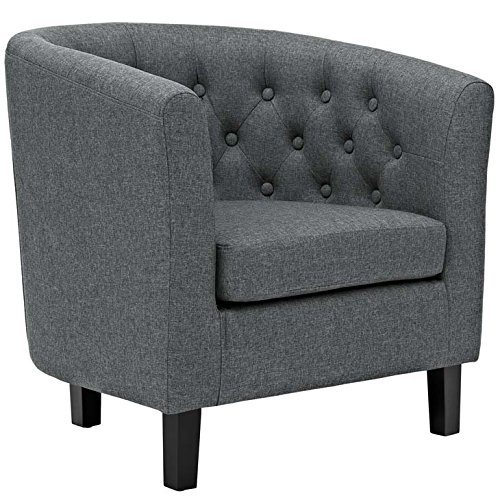Modway Prospect Upholstered Contemporary Modern Armchair In - Chesterfield Outlet Stores