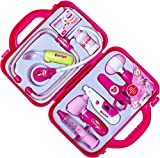 Emob Doctor Play Set for Kids with Durable Case, Pink