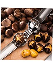 Chestnut Pliers 2 in 1 Quick Cutter Clip 304 Stainless Steel Nut Sheller Opener Kitchen Tools 1pc