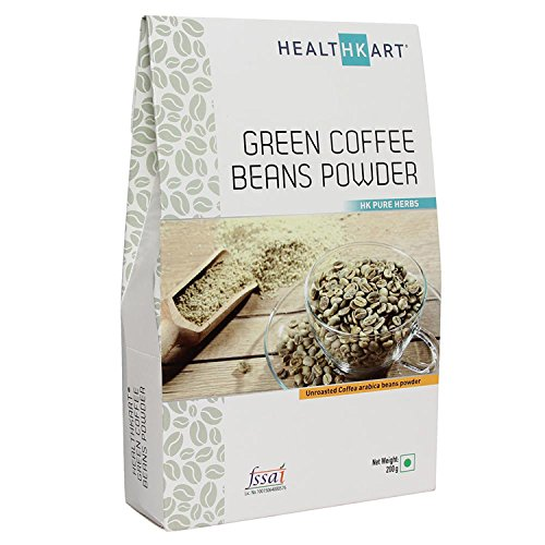 Healthkart 100 Natural Green Coffee Bean Powder For Weight