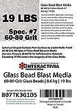 #7 Glass Beads - 19 lb or 8.6 kg - Blasting
