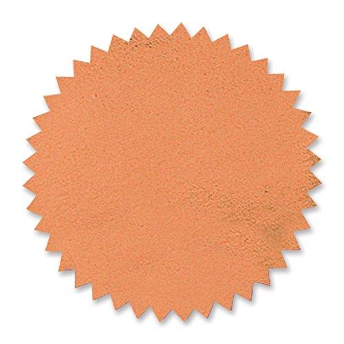 - Plain Bronze Foil Embossing Serrated Edge Certificate Seals, 2 Inch, Self Adhesive, 102 per Pack