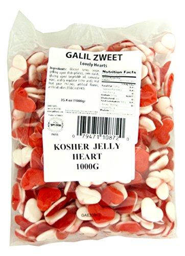 Zweet Lovely Hearts Bulk Gummy Candy, 35.3 Ounce (Pack of 12)