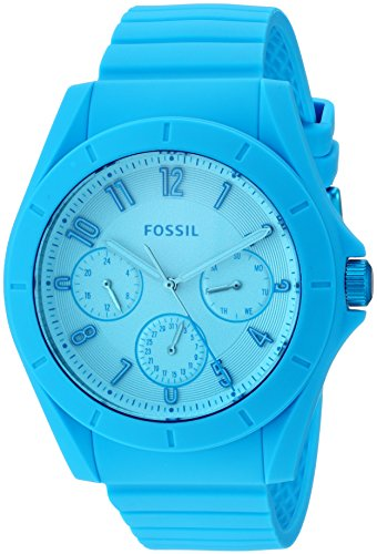 Fossil-Mens-FS5287-Poptastic-Sport-Multifunction-Blue-Silicone-Watch