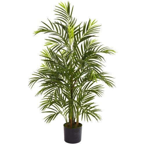 Nearly Natural 5388 Areca Palm UV Resistant Tree, 3.5-Feet, -