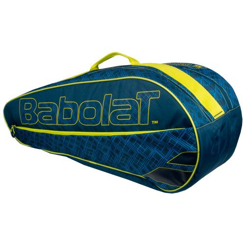 Babolat Club Classic Blue/Yellow 3 Pack Bag
