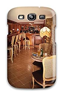 OHRGoyw6609qwrAJ Faddish Large Rustic Bar Area With Stone Walls And Wood Panels Case Cover For Galaxy S3
