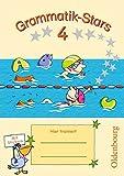 Grammatik-Stars: 4. Schuljahr - Übungsheft: Mit Lösungen