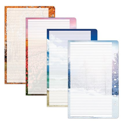 - Classic Seasons Lined Pages