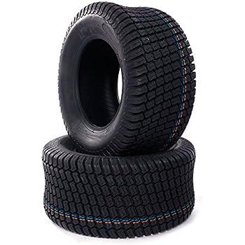 Amazon.com : TRIBLE SIX 2 pcs 23x10.5-12 Turf Tires for Lawn ...