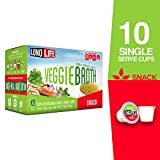 LonoLife All Natural Veggie Broth - 10 Count Snack - For your Keurig Style Brewer