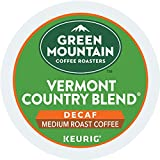 Green Mountain Coffee Medium Roast K-Cup for Keurig Brewers, Vermont Country Blend Decaf Coffee (Pack of 96)