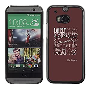 FU-Orionis Colorful Printed Hard Protective Back Case Cover Shell Skin for HTC One M8 - Hipster Bearded Skeleton