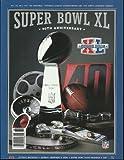 2006 Superbowl XL Game Program Steelers & Seahawks