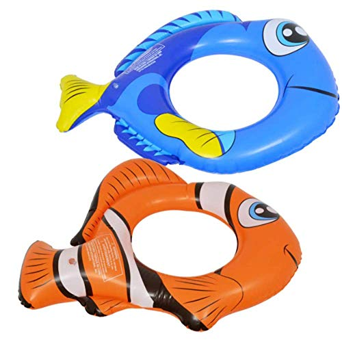 Splash n Swim Nemo and Dory Set for Kids, Swimming Splash Ring Inner Tube Float