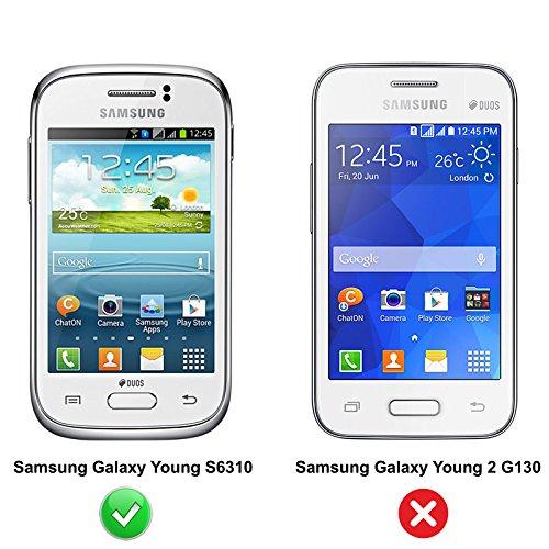 Premium Piel Flip Case–Samsung Galaxy A Series Smartphone Funda Flip Case Funda Cover Carcasa Funda–Thinkmobile Black Flip - Slim