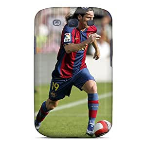 Samsung Galaxy S3 HIi19498kYWo Allow Personal Design Realistic Messi Pictures Protector Cell-phone Hard Cover -LauraAdamicska